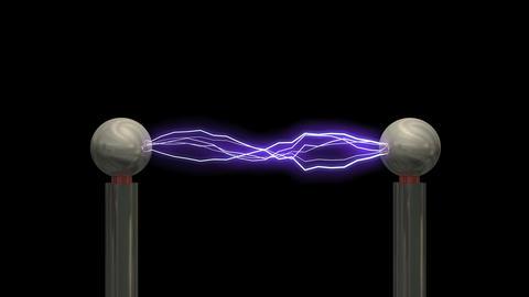 Tesla coil Animation