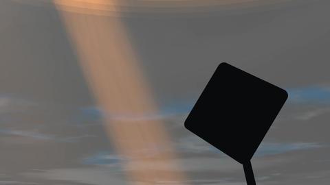 Uncertainty ahead Animation