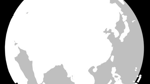 4K China Globe Zoom In v2 1 Animation
