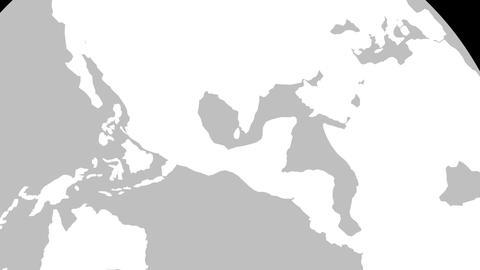 Mexico Globe Zoom In v2 1 CG動画