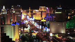 Las Vegas Strip stock footage