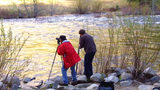 Photographers In Yosemite National Park stock footage