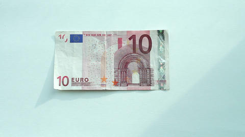 Currency Exchange: Euro To Dollar stock footage