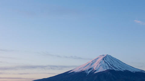 Close-up Of Mt.Fuji stock footage