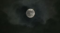 4K Full Moon Footage