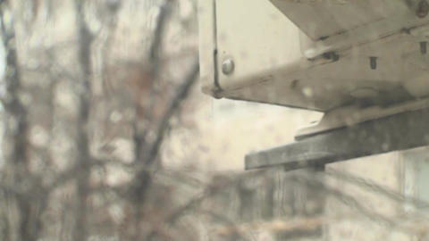 Rain Dripping Of An Old AC Installation 2 ライブ動画