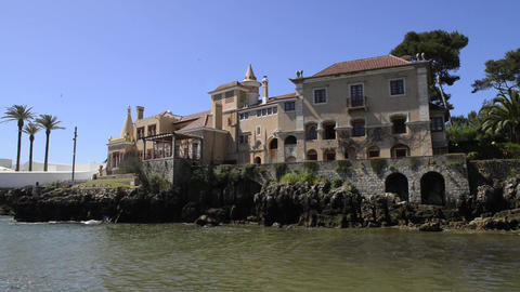 Municipal museum in Cascais Stock Video Footage