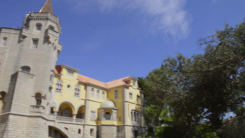 Municipal museum in Cascais Footage