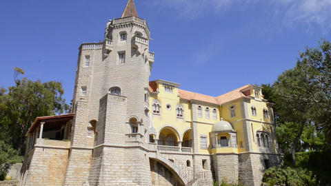 Municipal museum in Cascais Footage