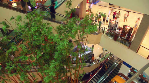 Mall stock footage