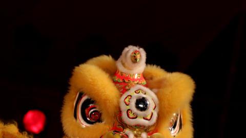 中国獅子舞002 Footage