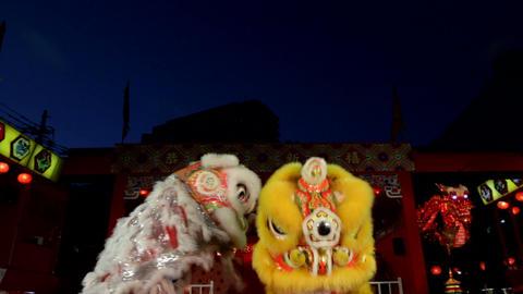 中国獅子舞004 ภาพวิดีโอ