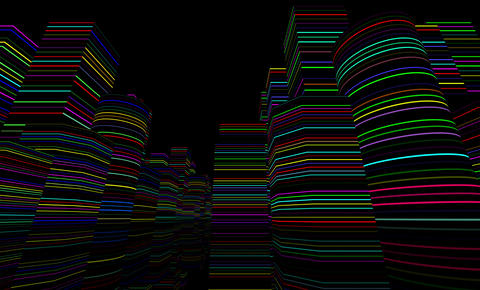 Neon Light City F 4 B 1 4k Animation