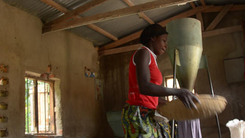 African farmers Footage