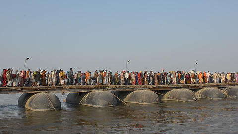 Ganges stock footage