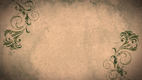 Flourish Background stock footage