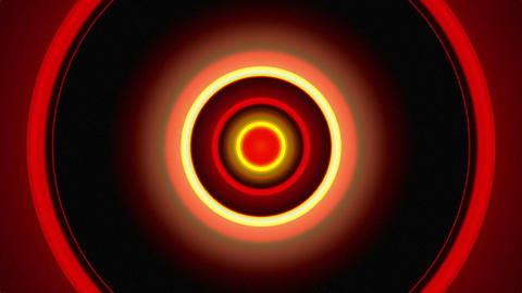 Light Circles Red Animation