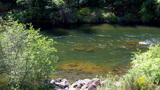Sierra Nevada Mountain Mokelumne River stock footage