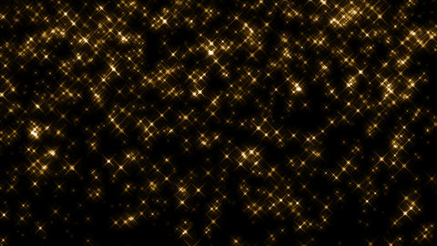 Drop Stars Gold stock footage