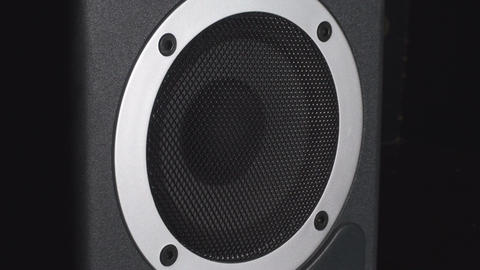 Bass Test Of A Studio Speaker Live Action