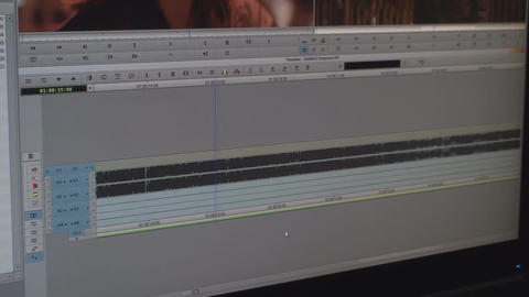 Video Editing Software Going Through The Timeline  Live Action