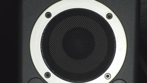 Turning Up The Volume On A Speaker, Bass, Reflex,  Footage