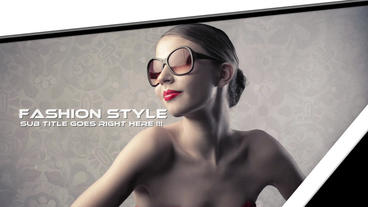 Clean Slideshow Apple Motion-Vorlage
