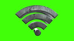 Rotating WiFi Symbol Animation