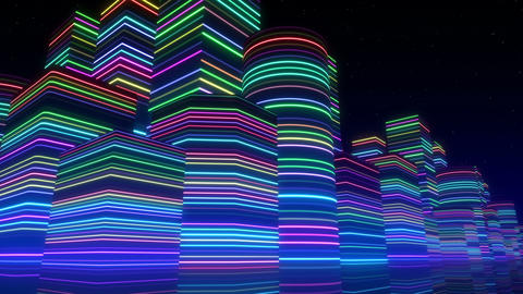 Neon Light City F 3 Bb 2 4k Animation