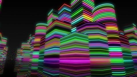 Neon Light City R 1 Ba 2 4k Animation