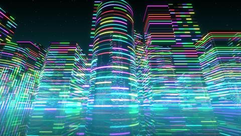 Neon Light City S 1 Ab 2 4k Animation