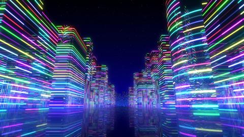 Neon Light City Z 1 Ab 2 4k Animation