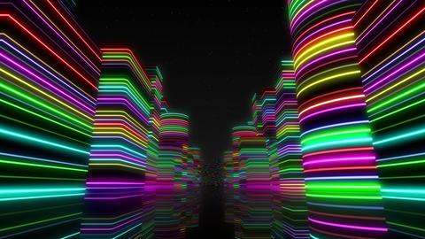 Neon Light City Z 1 Ba 2 4k Animation