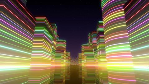 Neon Light City Z 1 Bc 2 4k Animation