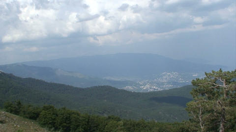 Crimea Landscape stock footage