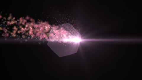 Light and smoke pink CG動画