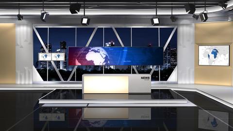 News Studio 100 C 2 Shift left Animation