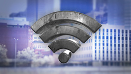 WiFi Symbol stock footage