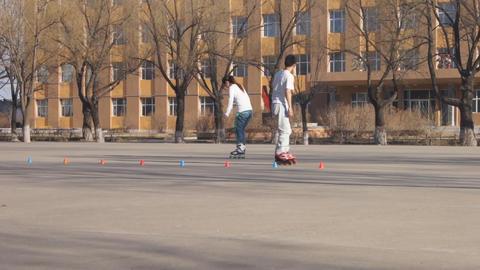 Heihexueyuan Rollers 03 Footage