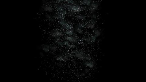 Steam particles,Underwater black dirt dust world,transparent smog,smoky haze Animation