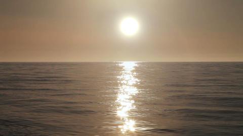 Sunset timelapse on the Black sea near Batumi, Geo Live Action