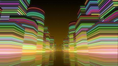 Neon Light City F 1 Bc 2 4k Animation