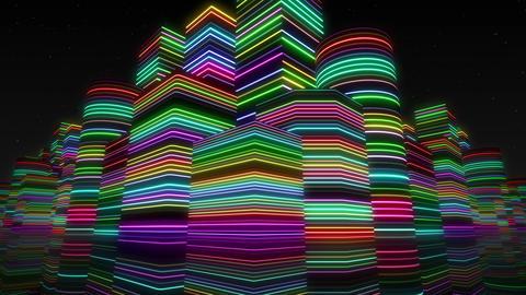 Neon Light City F 2 Ba 2 4k Animation