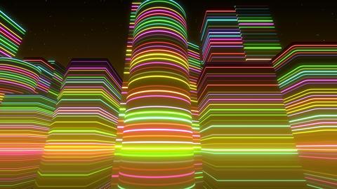 Neon Light City S 1 Bc 2 4k Animation