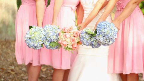 wedding bouquets Footage