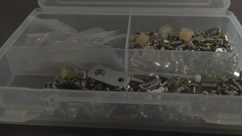 Putting Bolts Back Into The Box, Appliance, Nuts,  Live Action