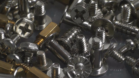 A Pile Of Bolts, Appliance, Nuts, Bolts, Point Of  Footage