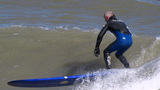 Surfing stock footage