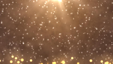 Light star bubble Champagne Animation