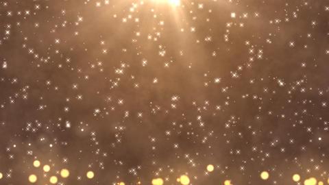 Light star bubble Champagne CG動画